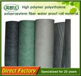 Waterdicht makende Membraan van de Tunnel van de Kelderverdieping van het Polyethyleen van het Polymeer van pvc het Hoge