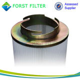 Forst Mikron-Staub-Sammler faltete Polyester Spunbonded Luft-Öse-Filter