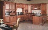 Amerikanischer neuer Auslegung-festes Holz-Küche-Schrank