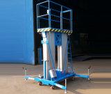 tabla de elevación de aluminio de los mástiles dobles de los 6-12m con las piernas favorables (GTWY6-200S)