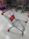 Горячая продавая вагонетка покупкы супермаркета бакалеи металла европейская