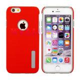 iPhoneのための赤い携帯電話のアクセサリの衝撃の証拠TPUの可動装置カバー
