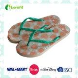 PE Slippers del Wome con Bright Ptinting e PVC Straps