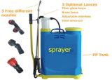 Pulvérisateur en plastique agricole de Farmguard de réservoir du pulvérisateur 16L de pression manuelle de sac à dos