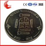 usine de pièces de monnaie de vente faite sur commande en métal 3D vieille