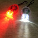 3 het Licht van de Fiets van de wijze 2PCS/Pair plaatste Lamp van de Waarschuwing van de 2 LEIDENE de Rode Witte Veiligheid van de Kleur voor de Lopende Helm van de Fiets