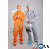 Bata no tejida disponible, bata protectora para el trabajador