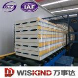 Fábrica Forneça diretamente painel de poliuretano / PU de isolamento de sala fria