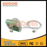 Lampada capa ricaricabile, indicatore luminoso capo del LED, faro, faro impermeabile della bici