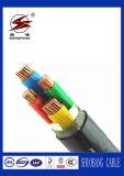 El PVC de la baja tensión aisló el alambre del cable de transmisión de 5 bases