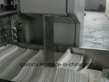 Equipo de papel plegable completamente automático de la servilleta de la impresión en color de la máquina