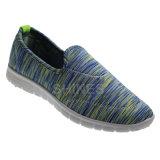 Эластичные ботинки впрыски ткани с цветастой печатью
