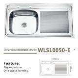 Bacia Wls10050-E do dissipador de cozinha única
