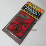 Hochwertiges hängendes Papierauto-Luft-Erfrischungsmittel mit langlebigem Duft