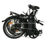 E-Bicyclette compétitive de forme de S pliant la mini E-Bicyclette de vélo électrique électrique de bicyclette (TDN09Z)