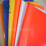 Encerado colorido barato impermeável do PVC para a tampa Tb104 da barraca ou do telhado