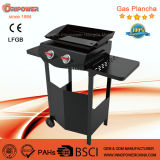 Gril de vente chaud de Gaz Plancha de barbecue de la France avec du ce