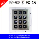 IP65-Wasser-Beweis-Hintergrundbeleuchtung Numeric Keypad