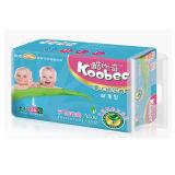 強いAbsorption Baby Diapers (青、L)
