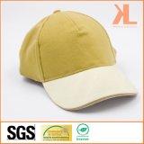 品質によってブラシをかけられる綿Twill Sandwich 5つのパネルの野球Cap
