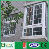 Ventana de desplazamiento de la aleación de aluminio con los 4 paneles
