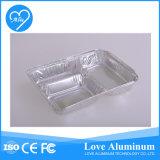 Casella di pranzo dei partiti del di alluminio tre