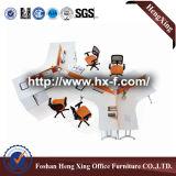 Sitio de trabajo de los muebles de oficinas de Hengxing para 6 personas