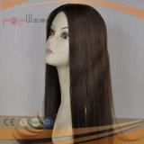 Parrucca piena superiore delle donne del merletto legata mano umana lunga dei capelli diritti di Remy
