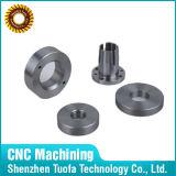 CNC de la aduana que trabaja a máquina las piezas de acero de Staniless con el tratamiento superficial