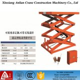 전기 Scissor Lift Platform 5t Stationary Hydraulic Scissor Lift Table
