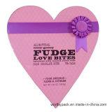 El rectángulo de papel del regalo lindo del caramelo con oye diseño Shaped