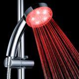 Chuveiro sanitário do banheiro do diodo emissor de luz do controle de temperatura da água dos mercadorias