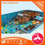 Apparatuur van de Speelplaats van het Labyrint van de Pijp van het Schip van de piraat de Stijl Gegalvaniseerde Binnen