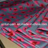 Сплетенная шаржем ткань печатание цветка полиэфира для рисбермы одежды/мешка/кухни