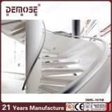 Prefab construction Inox Handrail Spiral Stairs (DMS-1075)