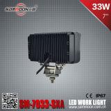 7 дюймов 33W СИД с света работы автомобиля дороги управляя для наивысшей мощности 4X4 SUV с RoHS, CE (SM-7033-SXA)