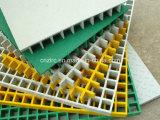 Rejillas de alta resistencia de la fibra de vidrio del peso ligero FRP GRP