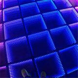Взаимодействующее цветастое освещение DJ пола танцы СИД