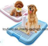新しい犬の洗面所の携帯用プラスチック取るに足らない皿ペット洗面所