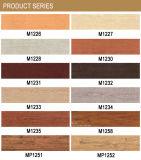 Precio barato AAA Porcelana Suelo del azulejo de baldosas de fibra de madera (M6526)