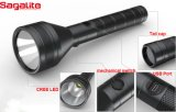 공장 Supply 크리 말 XPE 5W Aluminum Rechargeable LED Torch Flashlight