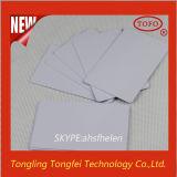 Cartão em branco plástico da impressão do Inkjet do PVC do preço de fábrica Cr80