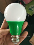 Diodo emissor de luz Color Bulb A60 6W em Green/Red/Blue/Yellow
