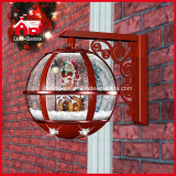 Festival Red Holiday lámpara de pared decorativo de la lámpara LED con la música