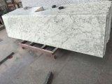 卸し売り自然な石造りのAndromedaの白い花こう岩の床タイルの磨かれたタイル