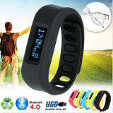 Франтовское Healthy Sport Bracelet Bluetooth пригодное для носки Wristband с OLED Display Pedometer Sleep