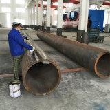 LSAWの大口径の厚い壁の縦方向の水中に沈められたアークの溶接された管