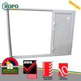 Portello di vetro di scivolamento della plastica 3-Track dell'isolamento termico UPVC/PVC con i ciechi