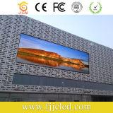 Diodo emissor de luz que anuncia a tela video com qualidade de Toppest