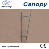 Sale caldo Canopy Steel Frame Canopy con il PC Glass Roof (B910)